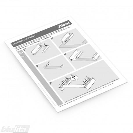 Instrukcijos – LEGRABOX stalčius po kriaukle
