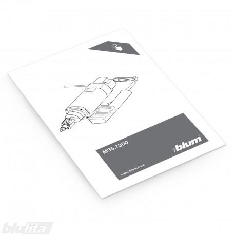 Instrukcijos – M35.7300 uždėjimas