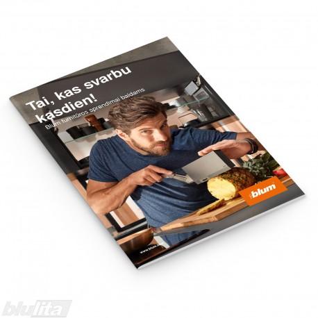 Brošiūra – Tai kas svarbu kasdien! Blum furnitūros sprendimai baldams