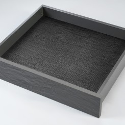 Kilimėlis stalčiui FIBRE silver grey