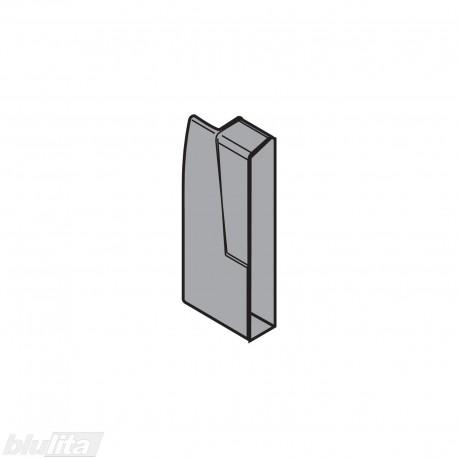 TANDEMBOX plus vidinio stalčiaus fasado laikiklis, Maukštis, tamsiai pilkos spalvos, kairys