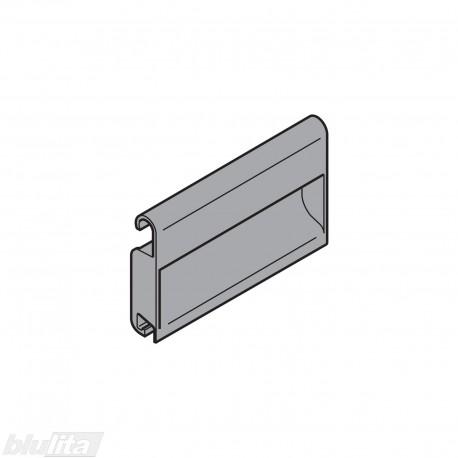 TANDEMBOX plus rankenėlė vidiniam aukštam stalčiui, be fiksacijos, tamsiai pilkos spalvos