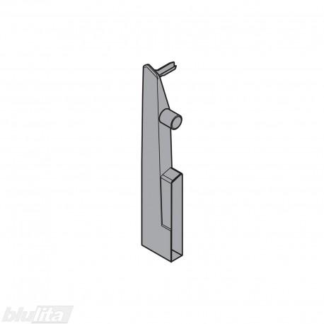 TANDEMBOX plus vidinio stalčiaus fasado laikiklis, Daukštis, tamsiai pilkos spalvos, kairys