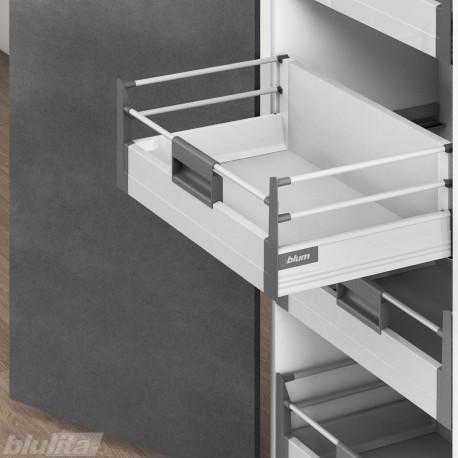 TANDEMBOX plus vidinis D stalčiaus komplektas, pilkas