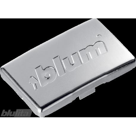 Lanksto peties dangtelis, su logotipu Blum, nikelio spalvos