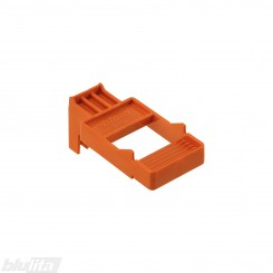 LEGRABOX / MOVENTO TIP-ON BLUMOTION fasado tarpelio šablonas, oranžinis