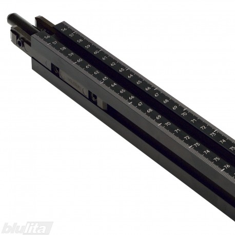 Staklių liniuotė MINIDRILL/ MINIPRESS, skalė 300–1550mm