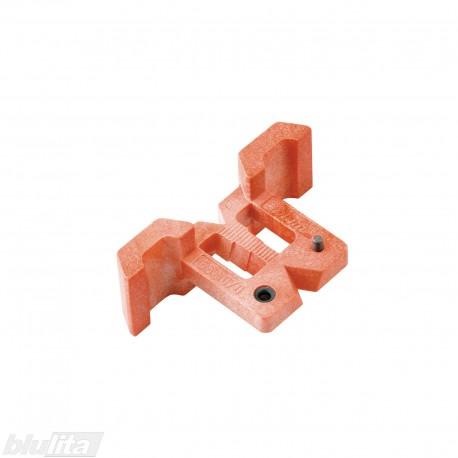 Šablonas CLIP/MODUL kryžminių plokštelių su Ø 5mm kaiščiais (EXPANDO) tvirtinimo vietų gręžimui