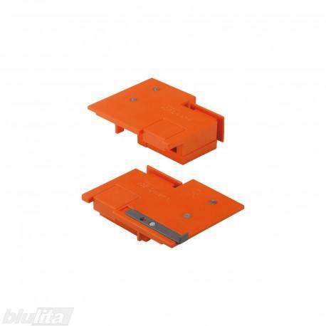Šablonas TANDEMBOX stalčių fasado laikiklių ZSF.3X02, tvirtinimo vietų žymėjimui
