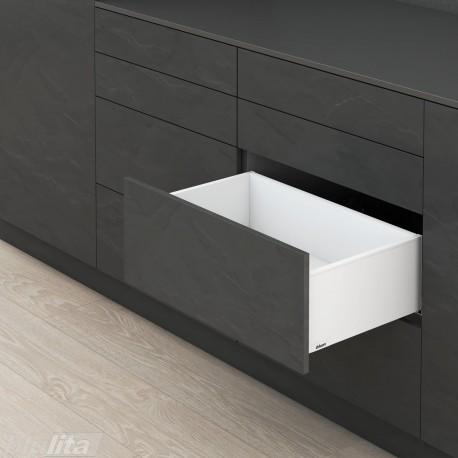 LEGRABOX pure C stalčiaus komplektas, baltas