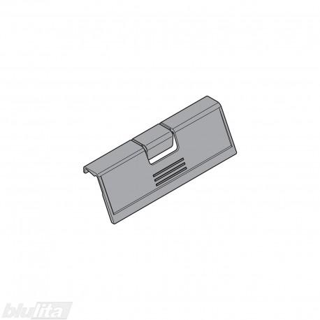 TANDEMBOX plus rankenėlė vidiniam žemam stalčiui, be fiksacijos, tamsiai pilkos spalvos, lanksti