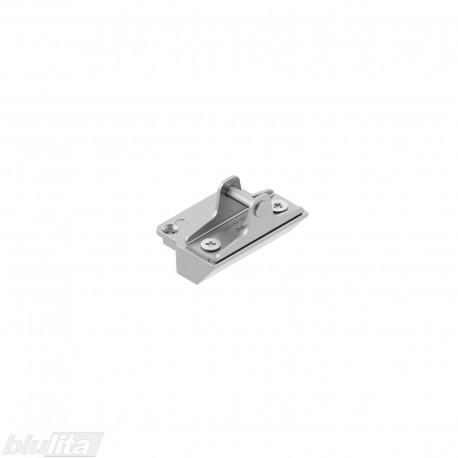 AVENTOS HK-XS fasado tvirtinimo plokštelė į siaurą aliuminio profilį, simetriška