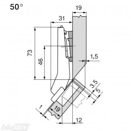 CLIP top lanksto komplektas N10