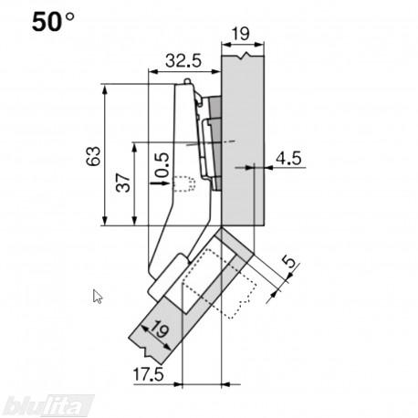 CLIP top lanksto komplektas N54
