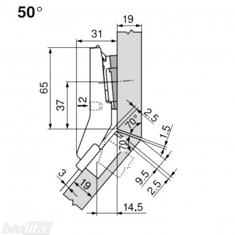 CLIP top lanksto komplektas N61