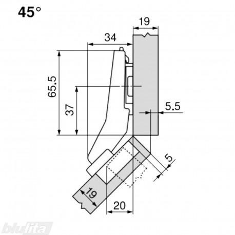 CLIP top lanksto komplektas N53