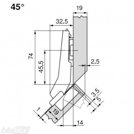 CLIP top lanksto komplektas N9