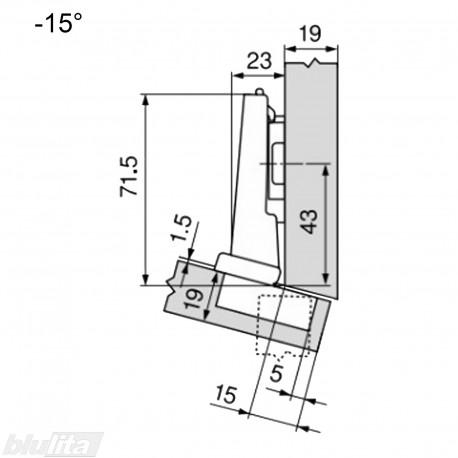 CLIP top lanksto komplektas N33