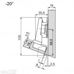CLIP top lanksto komplektas N12