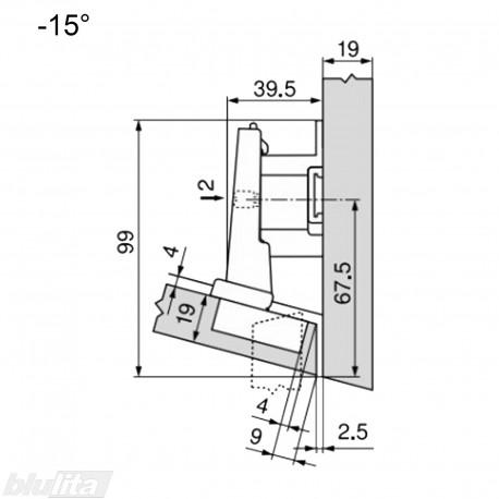 CLIP top lanksto komplektas N13