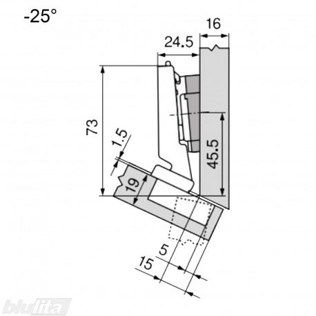 CLIP top lanksto komplektas N31