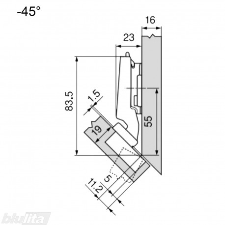 CLIP top lanksto komplektas N27