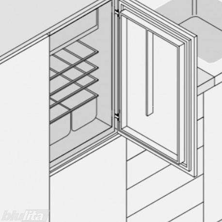 MODUL lanksto komplektas integruoto šaldytuvo fasadui