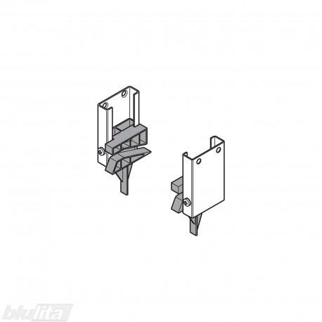 Cokolio nuleidimo mechanizmas, kairė ir dešinė