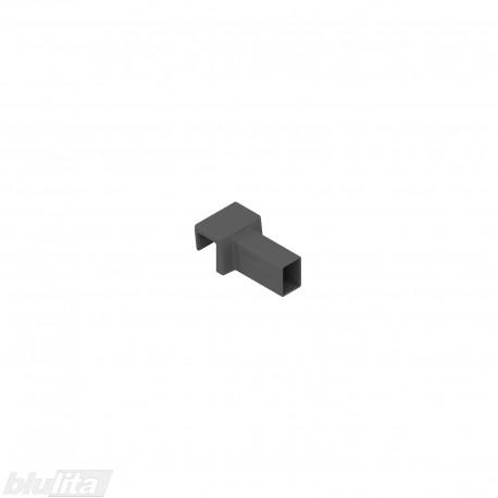 AMBIA-LINE skersinio relingo jungtis, skirta LEGRABOX pure, tamsiai pilka