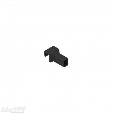 "AMBIA-LINE skersinė vamzdelio jungtis, tinka LEGRABOX pure, juodas ""Terra black"""