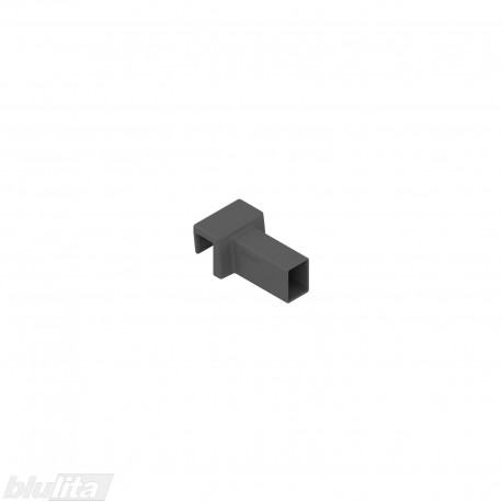 AMBIA-LINE skersinio relingo jungtis, skirta LEGRABOX free, tamsiai pilka