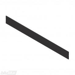 ORGA-LINE skersinės pertvaros profiliuotis TANDEBOX stalčiams, 1200 mm pločio spintelei, pjaustomas, juodos spalvos