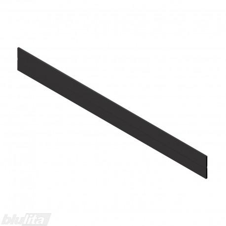 ORGA-LINE skersinė pertvara TANDEMBOX stalčiams, 1200 mm pločio spintelei, pjaustoma, juodos spalvos