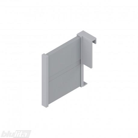 ORGA-LINE horizontali pertvara, TANDEMBOX stalčiams aukštu fasadu ir paaukštintu priekiu, šviesiai pilka